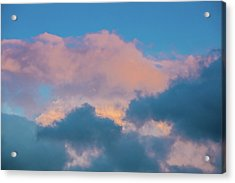 Shades Of Clouds Acrylic Print