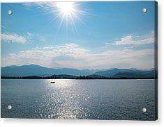 Shadow Mountain Lake Acrylic Print