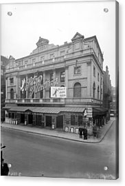 Shaftesbury Theatre Acrylic Print by Topical Press Agency