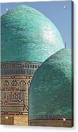 Shahr I Zindah Mausoleum, Samarkand Acrylic Print