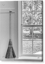 Shaker Broom Acrylic Print