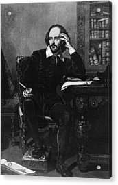 Shakespeare Acrylic Print by Hulton Archive