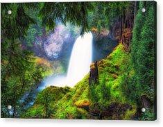 Shalie Waterfalls Acrylic Print