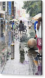Shanghai Showers Acrylic Print