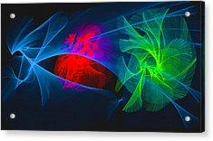 Shapes And Colours #i1 Acrylic Print