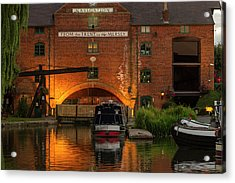 Shardlow Wharf Acrylic Print