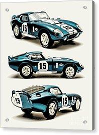Shelby Cobra Daytona Acrylic Print