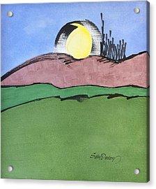 Shine On, Harvest Moon Acrylic Print