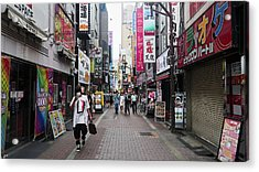 Shinjuku Acrylic Print