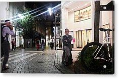 Shinjuku Man Acrylic Print