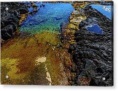 Shore Colors Acrylic Print