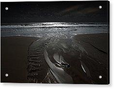 Shore Of The Cosmic Ocean Acrylic Print