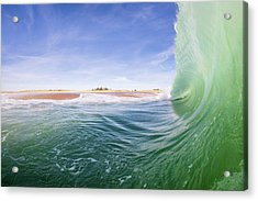 Shorebreak Acrylic Print