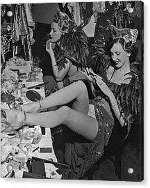 Showgirls Backstage Acrylic Print