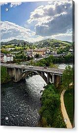 Sights From The Millennium Bridge Acrylic Print
