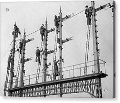 Signal Repairs Acrylic Print