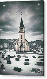 Silent Prayers Acrylic Print