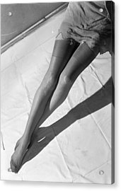 Silk Stockings Acrylic Print by Chaloner Woods