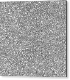 Acrylic Print featuring the photograph Silver Glitter  by Top Wallpapers