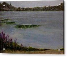 Silver Lake During The Wildfires Acrylic Print