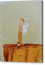 Simply Sweet Angel Boy Acrylic Print