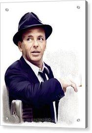Frank Sinatra Sinatra Acrylic Print