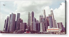Singapore Cityscape The Second Acrylic Print
