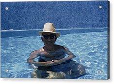 Siodmak In Pool Acrylic Print