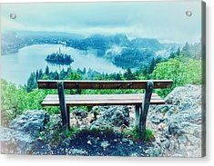 Sit A Spell Acrylic Print