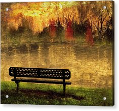 Sit And Admire Acrylic Print