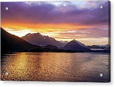 Acrylic Print featuring the photograph Sitka Sunrise by Dawn Richards