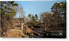 Sixes Mill Acrylic Print by Elijah Knight