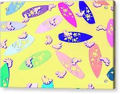 Sixties Surf Acrylic Print