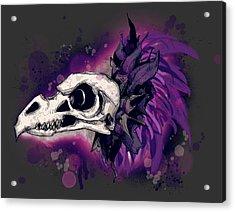 Skeksis Skull Acrylic Print