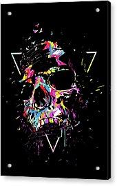 Skull X Acrylic Print