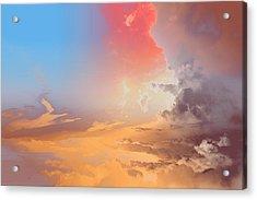 Sky Fight Acrylic Print