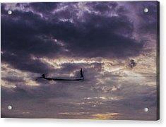 Sky Fisherman Acrylic Print