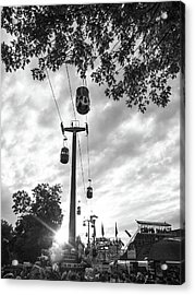 Acrylic Print featuring the photograph Sky Lift by Whitney Leigh Carlson