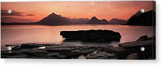 Acrylic Print featuring the photograph Skye Sunset by Grant Glendinning