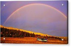 Skylane Rainbow Acrylic Print
