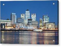 Skyline, London, U.k Acrylic Print by John Harper