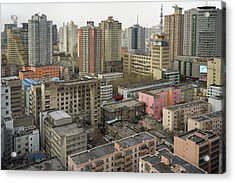 Skyline Urumqi Xinjiang China Acrylic Print