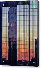 Skyscraper Sunset Acrylic Print