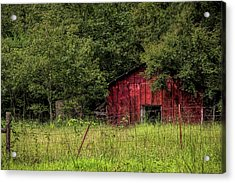 Small Barn Acrylic Print