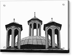 Small Domes On The Roof Of The Emperial Acrylic Print