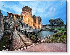 Smederevo Fortress Gate And Bridge Acrylic Print