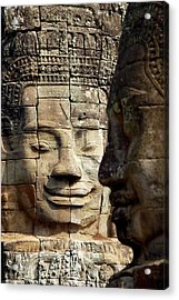Smiling For Centuries Acrylic Print