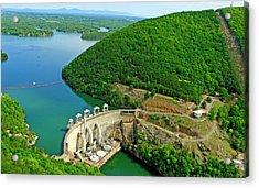 Smith Mountain Lake Dam Acrylic Print