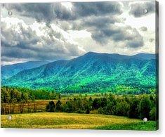 Smoky Mountain Farm Land Acrylic Print