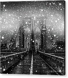 Snow Collection Set 04 Acrylic Print